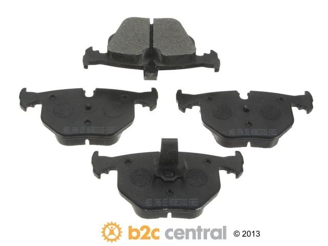 FBS - NPN Premium Brake Pad Set Organic w/o Shims (Rear) - B2C W0133-1608235-NPN