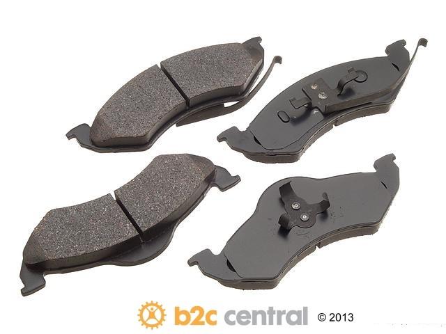 FBS - Akebono PRO-ACT Ultra-Premium OE Brake Pad Set Ceramic (Front) - B2C W0133-1609363-AKE