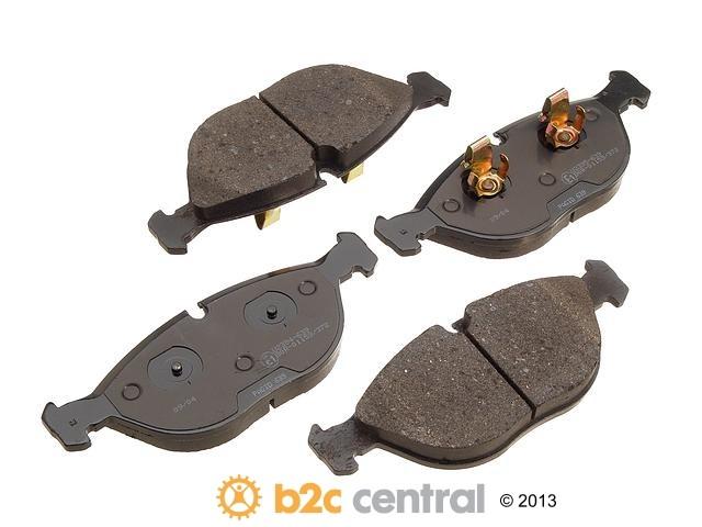 FBS - Pagid OE Formulated Brake Pad Set w/ Shims - B2C W0133-1609704-PAG