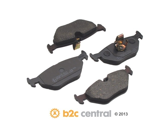 FBS - Pagid OE Formulated Brake Pad Set With Shims (Rear) - B2C W0133-1611031-PAG