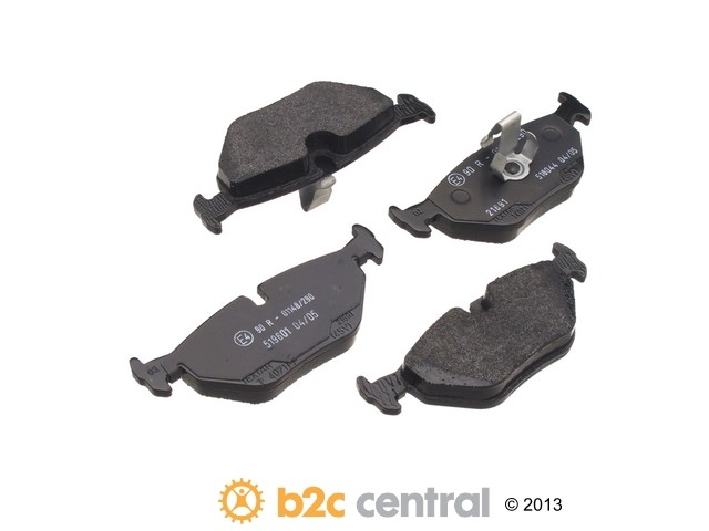 FBS - Textar OE Formulated Brake Pad Set With Shims (Rear) - B2C W0133-1611031-TEX