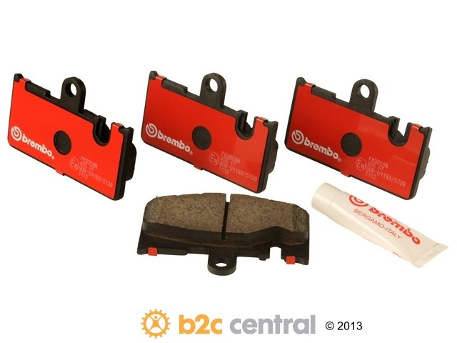 FBS - Brembo Ceramic Brake Pad Set With Shims (Rear) - B2C W0133-1611059-BRE