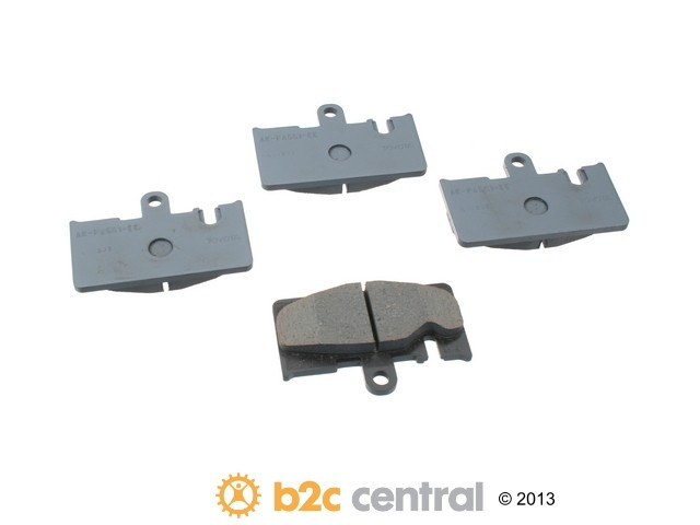 FBS - Genuine OE Replacement Brake Pad Set (Rear) - B2C W0133-1611059-OES