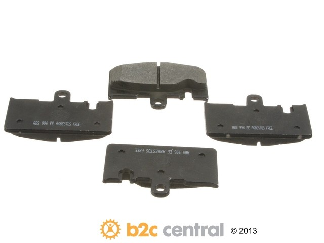 FBS - NPN OE Formulated Brake Pad Set w/o Shims (Rear) - B2C W0133-1611059-NPN