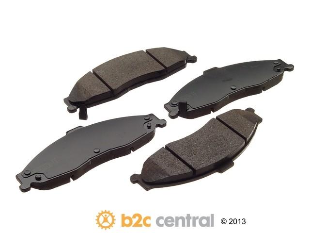 FBS - Akebono PRO-ACT Ultra-Premium OE Brake Pad Set Ceramic (Front) - B2C W0133-1611514-AKE