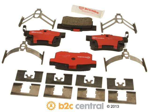 FBS - Brembo Ceramic Brake Pad Set With Shims (Rear) - B2C W0133-1613107-BRE