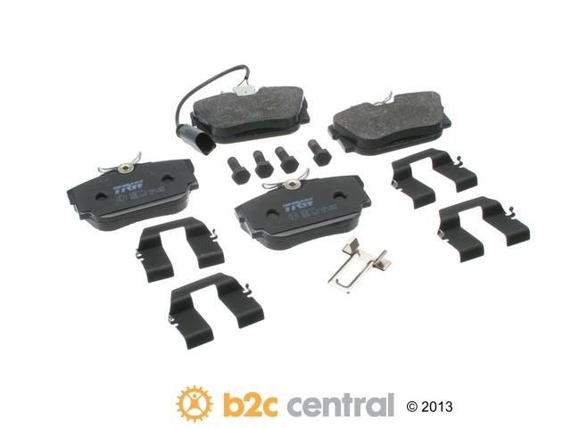 FBS - TRW OE Replacement Brake Pad Set w/ Shims (Rear) - B2C W0133-1613180-TRW