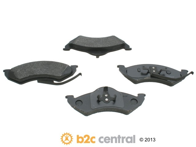 FBS - PBR 4WD Super Brake Pad Set With Shims (Front) - B2C W0133-1615666-PBR