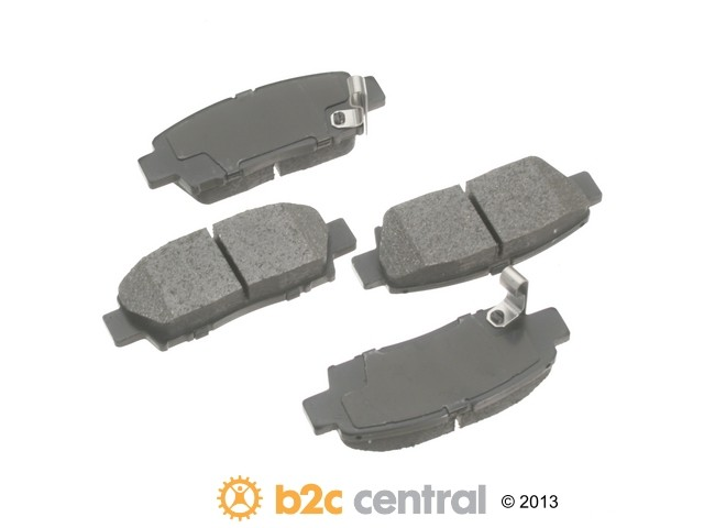 FBS - Advics Ceramic OE Replacement Brake Pad Set w/o Shims (Rear) - B2C W0133-1615719-ADV