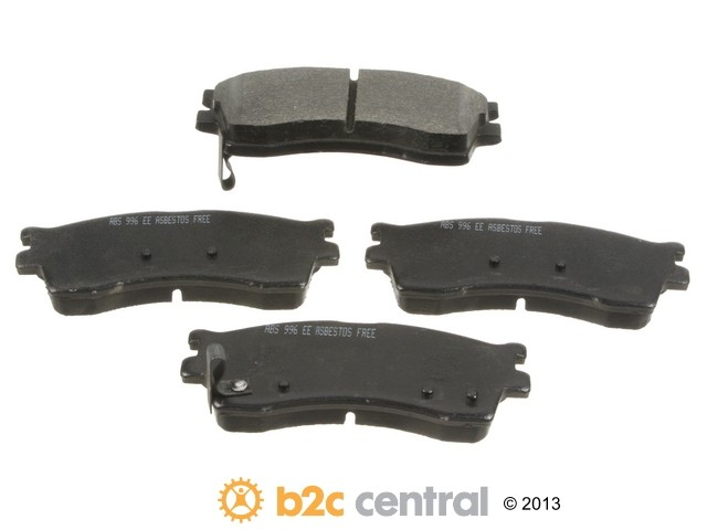 FBS - NPN OE Formulated Brake Pad Set w/o Shims (Front) - B2C W0133-1615974-NPN