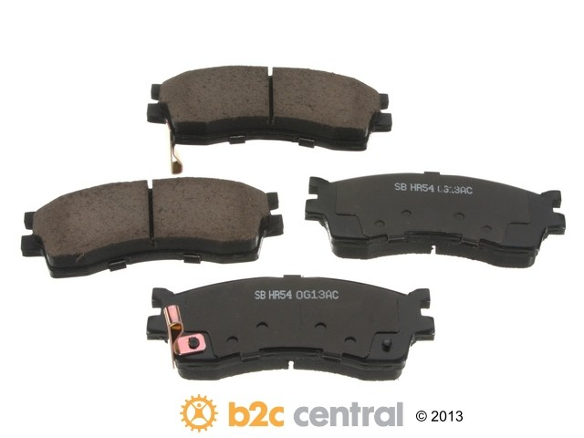 FBS - Sangsin Ceramic Brake Pad Set With Shims (Front) - B2C W0133-1615974-SBC