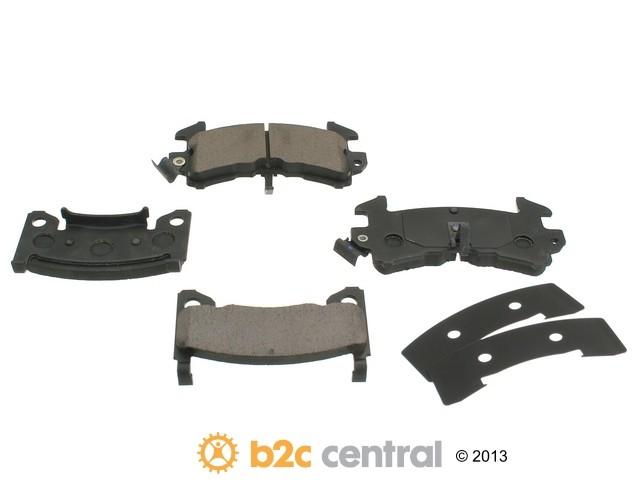 FBS - Akebono Premium Brake Pad Set NLA - 7/14 (Front) - B2C W0133-1616414-AKE