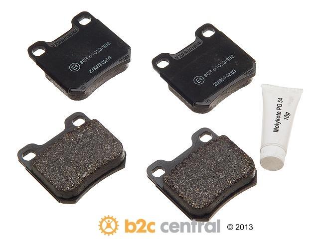 FBS - Textar OE Formulated Brake Pad Set With Shims (Rear) - B2C W0133-1617773-TEX