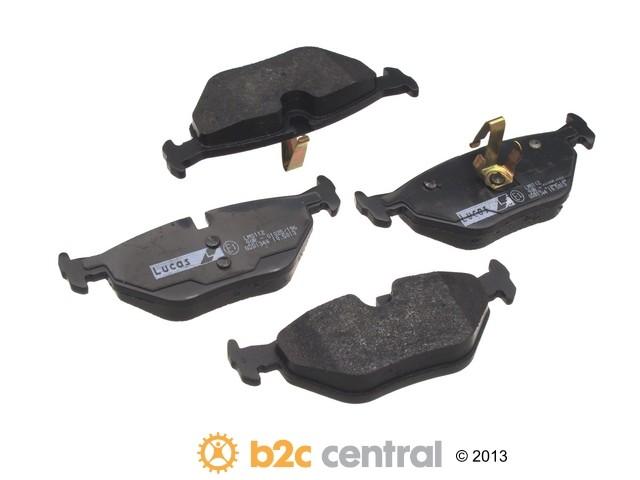 FBS - TRW OE Formulated Brake Pad Set With Shims (Rear) - B2C W0133-1617832-TRW