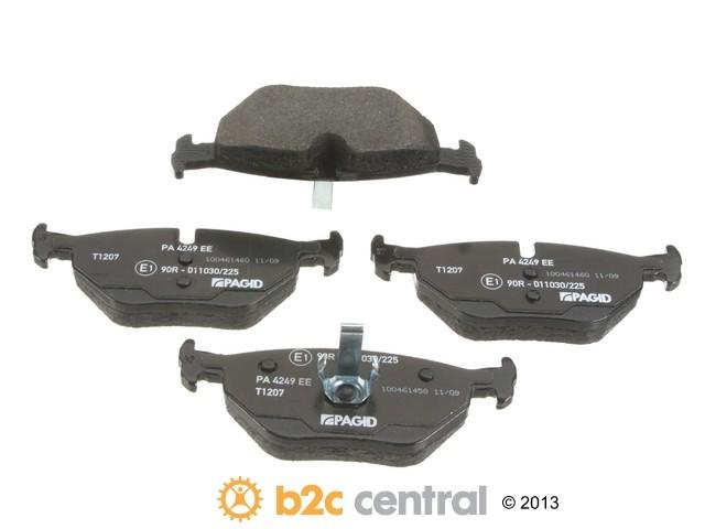 FBS - Pagid OE Formulated Brake Pad Set With Shims (Rear) - B2C W0133-1619680-PAG