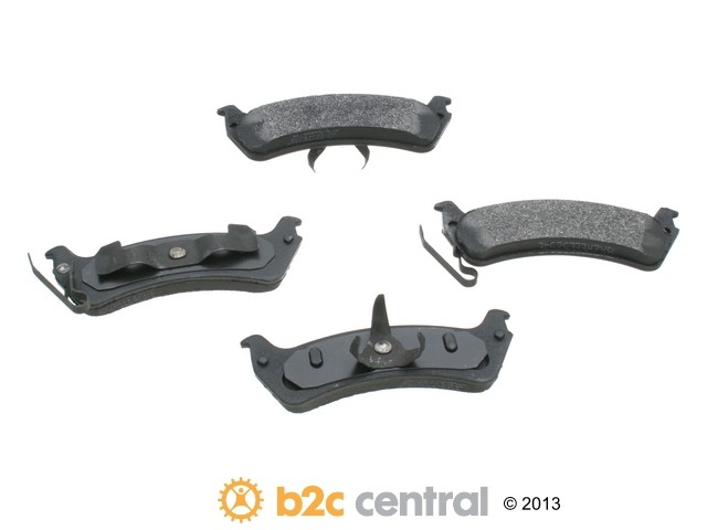 FBS - PBR XBG - Semi-Metallic Brake Pad Set w/o Shims (Rear) - B2C W0133-1620676-PBR