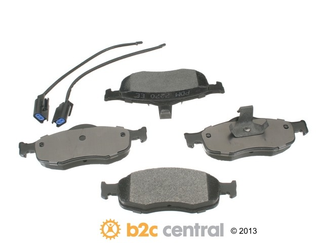 FBS - PBR XBG - Semi-Metallic Brake Pad Set w/o Shims (Front) - B2C W0133-1621347-PBR