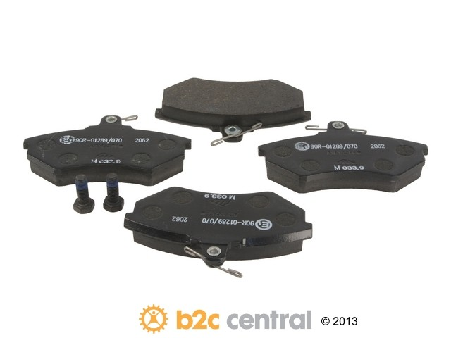 FBS - ATE Premium One Brake Pad Set With Shims (Front) - B2C W0133-1621532-APO