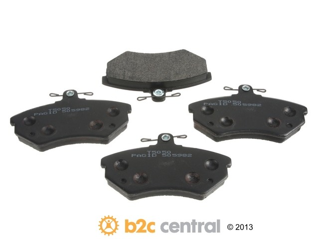 FBS - Pagid OE Formulated Brake Pad Set w/ Shims (Front) - B2C W0133-1621532-PAG