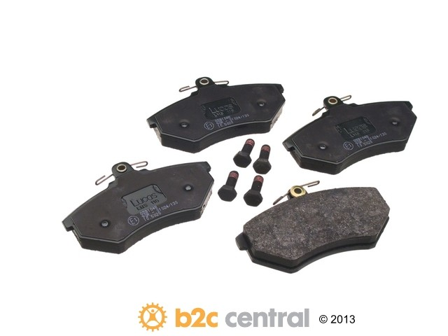 FBS - TRW OE Formulated Brake Pad Set With Shims (Front) - B2C W0133-1621532-TRW
