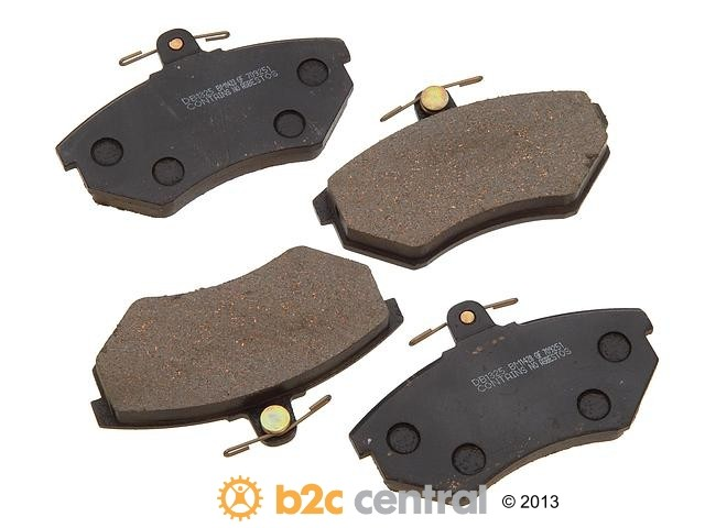FBS - PBR Deluxe Brake Pad Set w/o Shims (Front) - B2C W0133-1621610-PBR