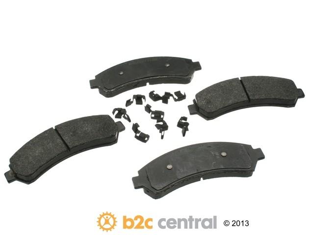 FBS - PBR 4WD Super Brake Pad Set Semi-Metallic w/ Shims (Front) - B2C W0133-1621729-PBR