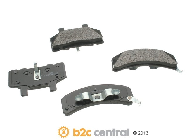 FBS - PBR Ultimate Brake Pad Set Ceramic - With Shims (Front) - B2C W0133-1622087-PBR