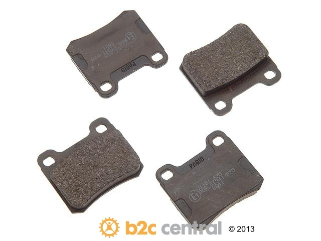 FBS - Pagid OE Formulated Brake Pad Set w/ Shims (Rear) - B2C W0133-1622578-PAG