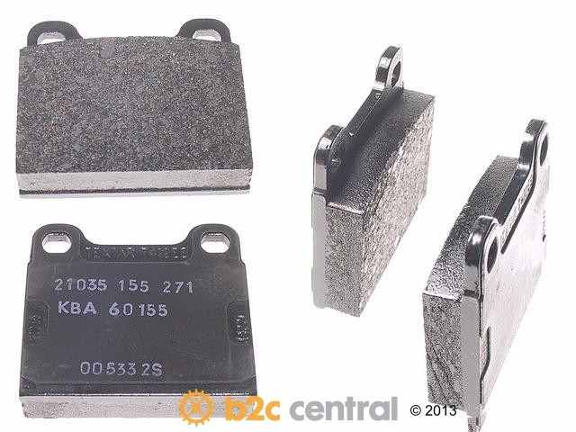 FBS - Textar OE Formulated Brake Pad Set With Shims (Rear) - B2C W0133-1622814-TEX