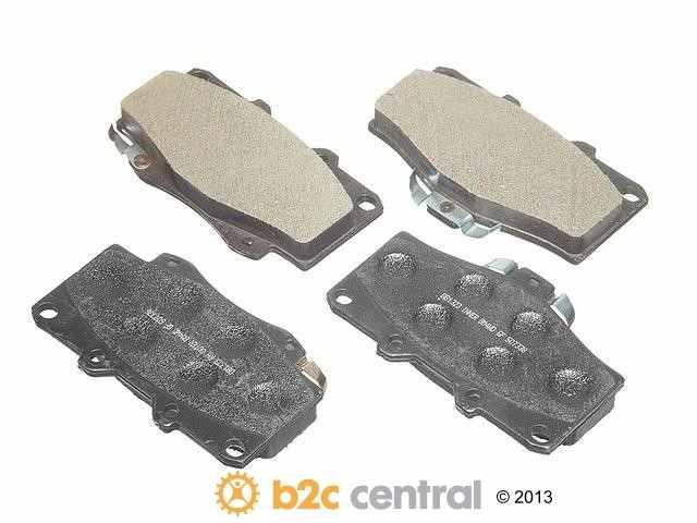 FBS - PBR 4WD Super Brake Pad Set Semi-Metallic w/ Shims (Front) - B2C W0133-1622910-PBR