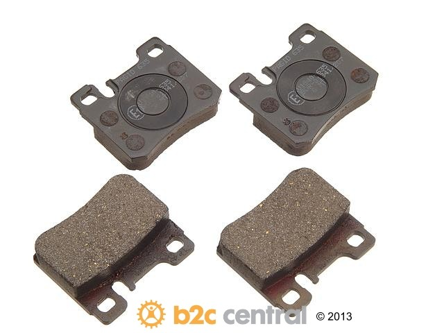 FBS - Pagid OE Formulated Brake Pad Set With Shims (Rear) - B2C W0133-1622998-PAG
