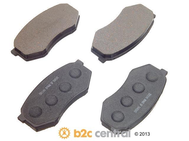 FBS - PBR 4WD Super Brake Pad Set Semi-Metallic w/ Shims (Front) - B2C W0133-1623174-PBR