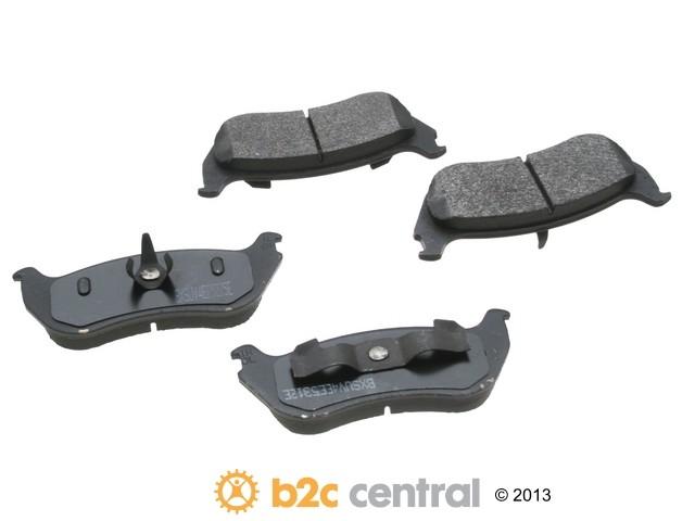 FBS - PBR 4WD Super Brake Pad Set With Shims (Rear) - B2C W0133-1623296-PBR