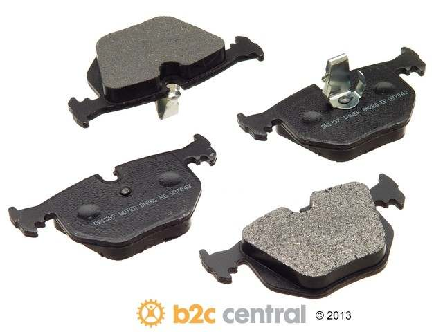 FBS - PBR XBG - Semi-Metallic Brake Pad Set w/o Shims (Rear) - B2C W0133-1623772-PBR