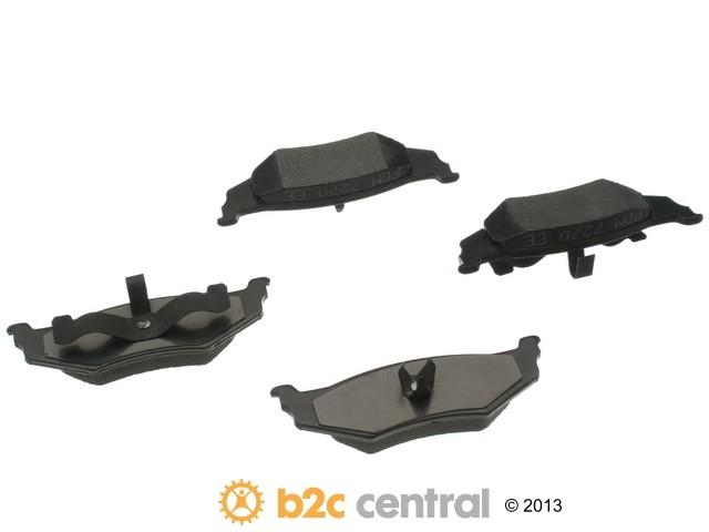 FBS - PBR XBG - Semi-Metallic Brake Pad Set w/o Shims (Rear) - B2C W0133-1623904-PBR