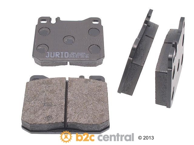 FBS - Jurid OE Formulated Brake Pad Set w/ Shims (Front) - B2C W0133-1623951-JUR