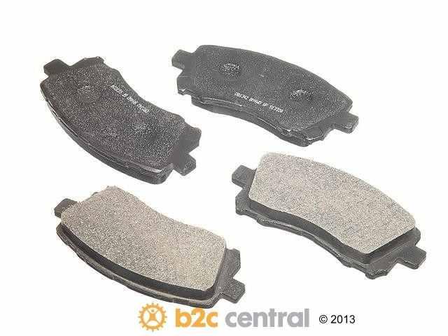 FBS - PBR 4WD Super Brake Pad Set Semi-Metallic w/ Shims (Front) - B2C W0133-1623953-PBR