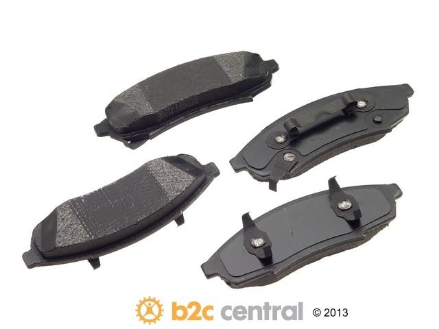 FBS - PBR XBG - Semi-Metallic Brake Pad Set w/o Shims (Front) - B2C W0133-1624280-PBR