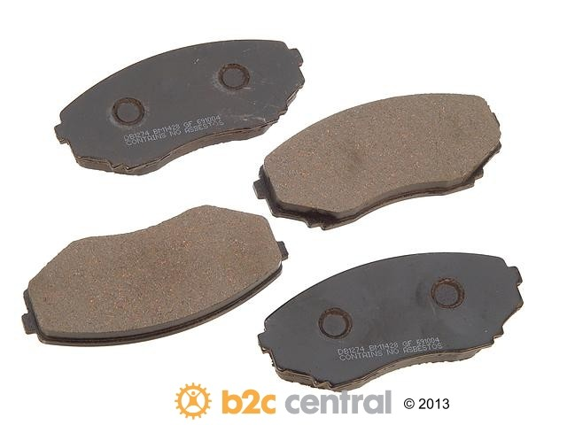 FBS - PBR Deluxe Brake Pad Set w/o Shims (Front) - B2C W0133-1624283-PBR
