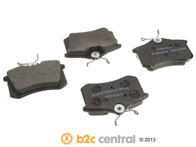 FBS - Pagid OE Formulated Brake Pad Set With Shims (Rear) - B2C W0133-1624400-PAG