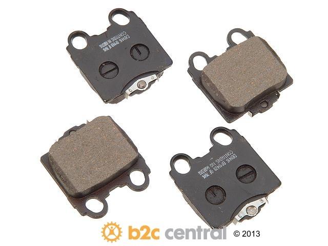 FBS - PBR Deluxe Brake Pad Set w/o Shims (Rear) - B2C W0133-1624407-PBR