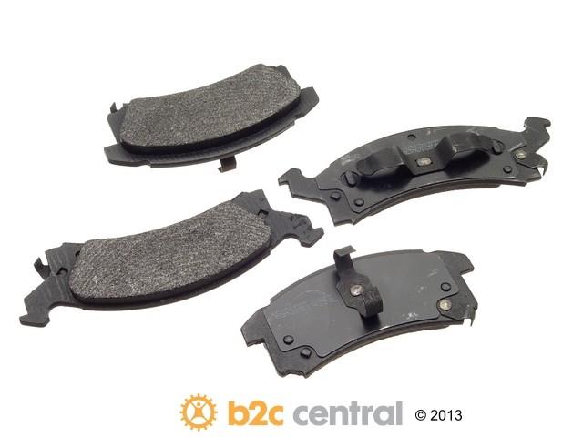 FBS - PBR XBG - Semi-Metallic Brake Pad Set w/o Shims (Front) - B2C W0133-1624872-PBR