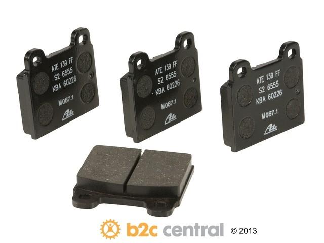 FBS - ATE Original OE Formulated Brake Pad Set w/ Shims - B2C W0133-1624952-ATE