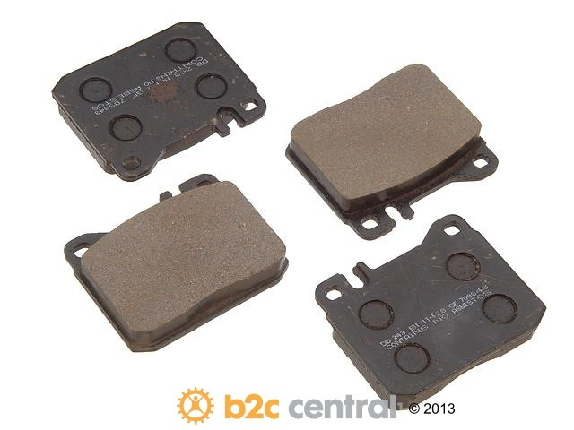 FBS - PBR Deluxe Brake Pad Set w/o Shims (Front) - B2C W0133-1625051-PBR
