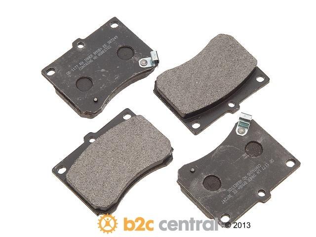 FBS - PBR XBG - Semi-Metallic Brake Pad Set w/o Shims (Front) - B2C W0133-1625236-PBR