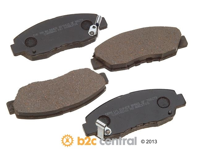 FBS - PBR Deluxe Brake Pad Set w/o Shims (Front) - B2C W0133-1625463-PBR