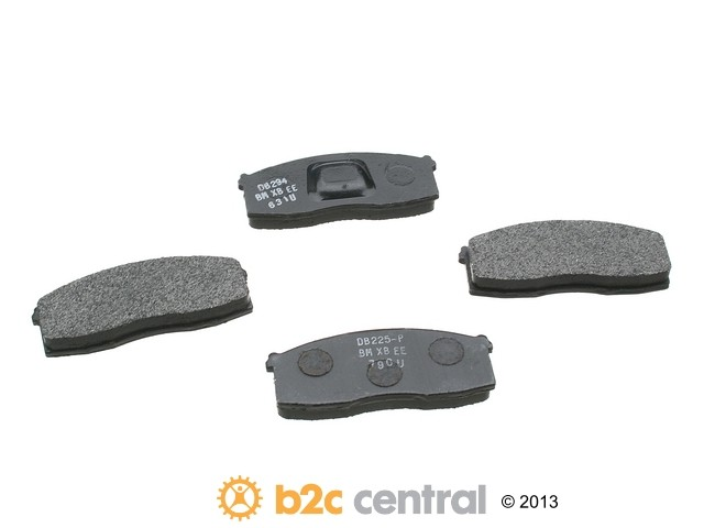 FBS - PBR XBG - Semi-Metallic Brake Pad Set w/o Shims (Front) - B2C W0133-1625615-PBR