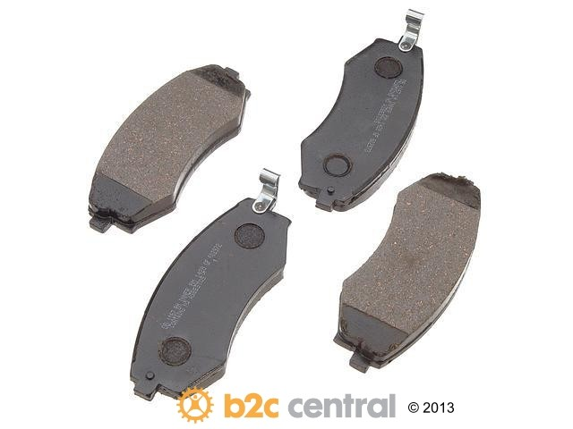 FBS - PBR Deluxe Brake Pad Set Ceramic w/o Shims (Front) - B2C W0133-1625857-PBR