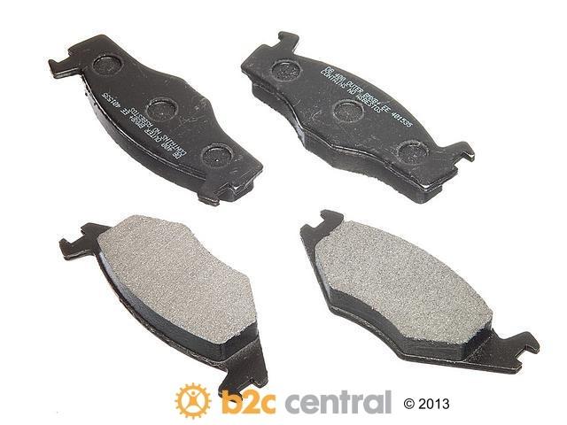 FBS - PBR XBG - Semi-Metallic Brake Pad Set w/o Shims (Front) - B2C W0133-1625861-PBR