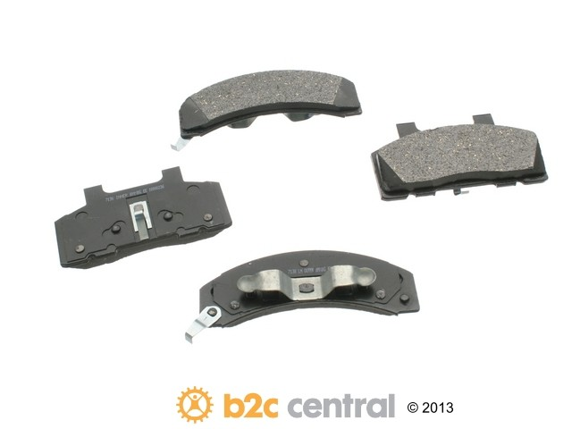 FBS - PBR XBG - Semi-Metallic Brake Pad Set w/o Shims (Front) - B2C W0133-1625981-PBR